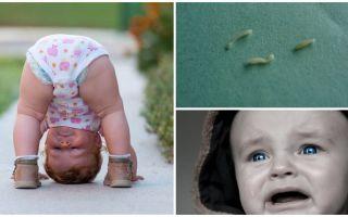 Bir çocukta pinworm belirtileri ve tedavisi
