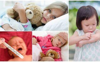 Yetişkinlerde ve çocuklarda sivrisinek ısırıklarının sıcaklığı