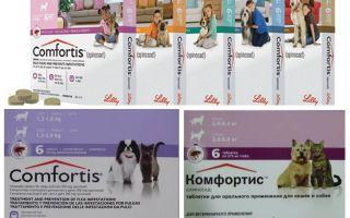 Köpekler ve kediler için pire tabletleri