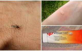Bir çocuk ve bir yetişkin sivrisinek sokması gelen kaşıntı nasıl ve nasıl kaldırılır