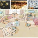 Evde tahtakuruların habitatları