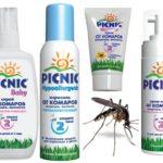 Serisi Piknik Bebek sivrisineklere karşı