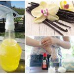 Sivrisineklerden vanilya kullanın