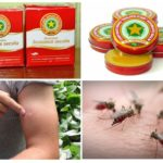 Balsam sivrisineklerinden yıldızları ve ısırıkları