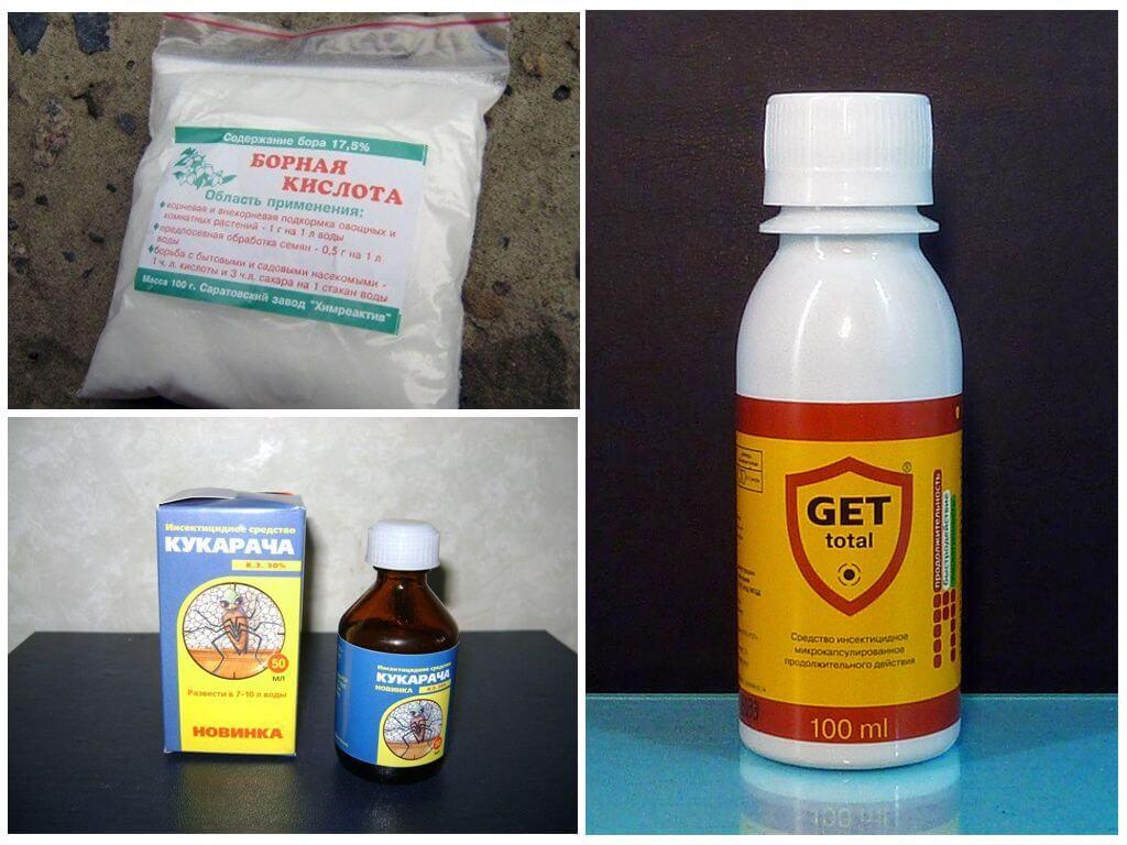 Arılar için kimyasal preparatlar