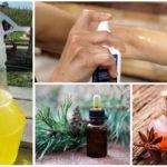 Sivrisinekler için Aromamasla