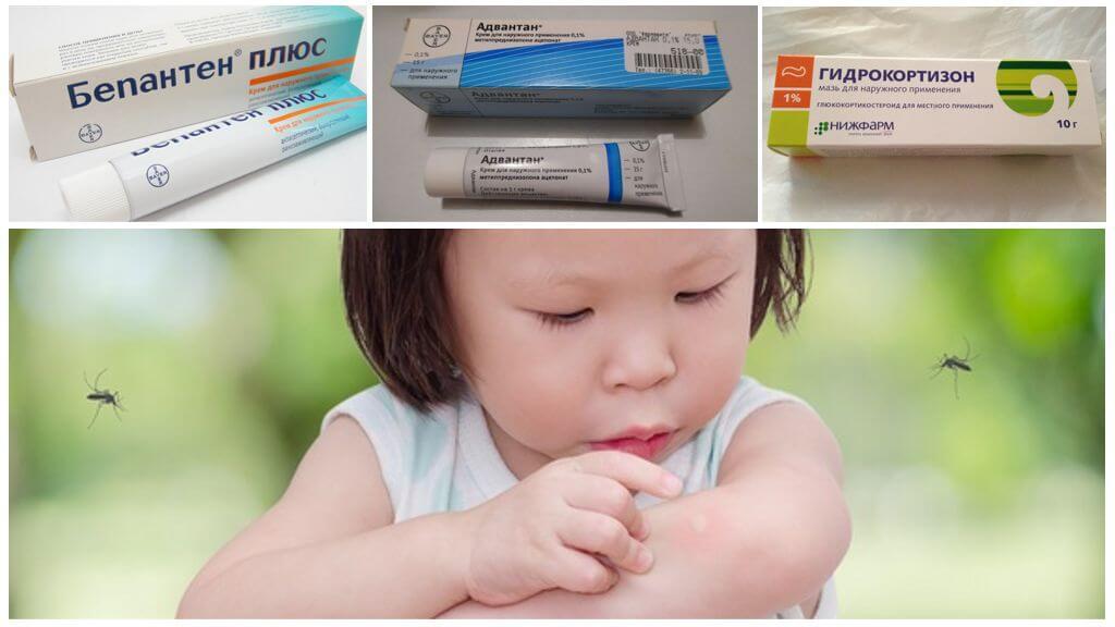 Çocuklarda sivrisinek ısırıklarında kullanılan merhemler