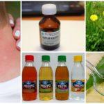 Sivrisinek sokması için halk ilaçları