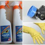Agita ile çalışırken güvenlik önlemleri