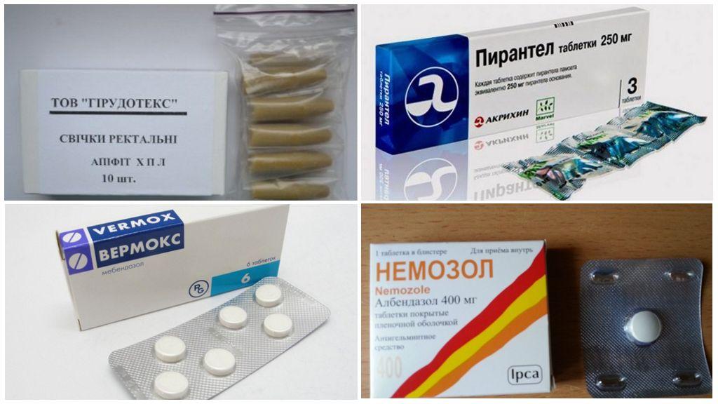 Hamile bir kadında enterobiyoz tedavisi için hazırlıklar